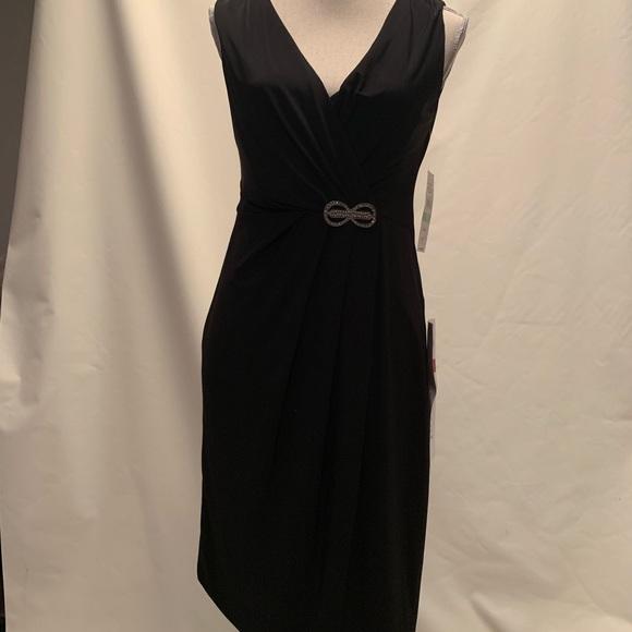 SL Fashions Dresses & Skirts - Belted Black dress